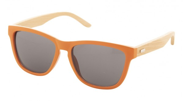 Lunette personnalisable bambou orange