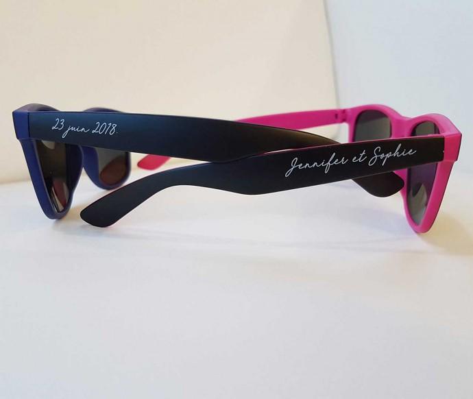 lunettes de soleil personnalisées mariage modèle ibiza