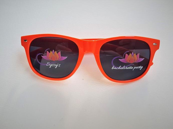 lunettes personnalisees avec un marquage direct sur les verres en hd quadri