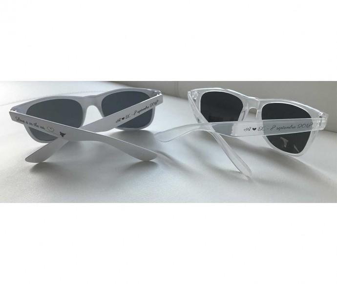 lunettes personnalisées élégantes pour un mariage