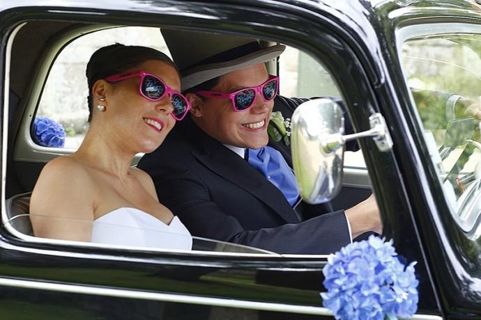 Lunettes personnalisées mariage
