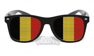 Lunette drapeau Belgique