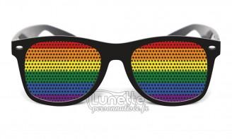 Lunette drapeau Rainbow