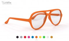 Classico aviateur orange